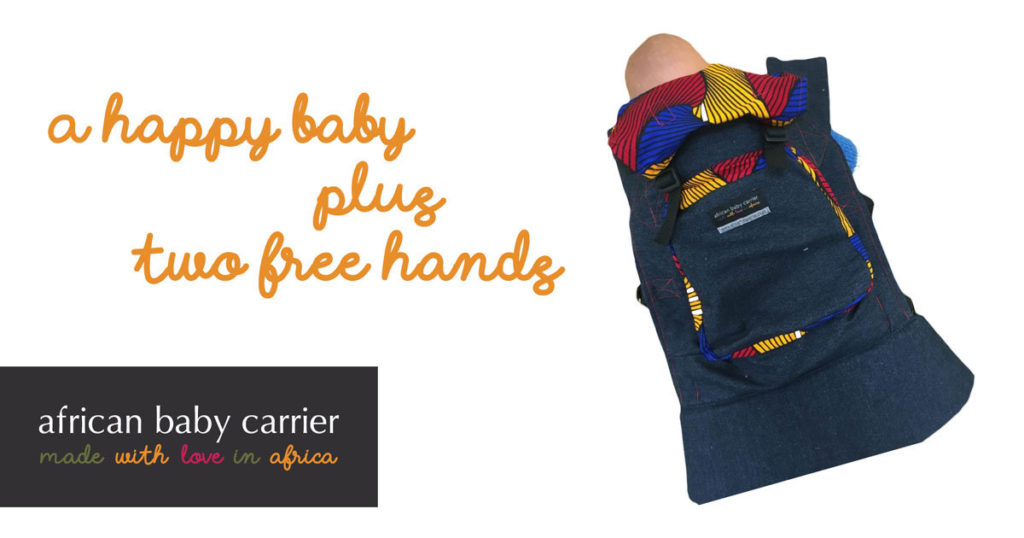Limited edition African Baby Carriers in beautiful designs at a special price.