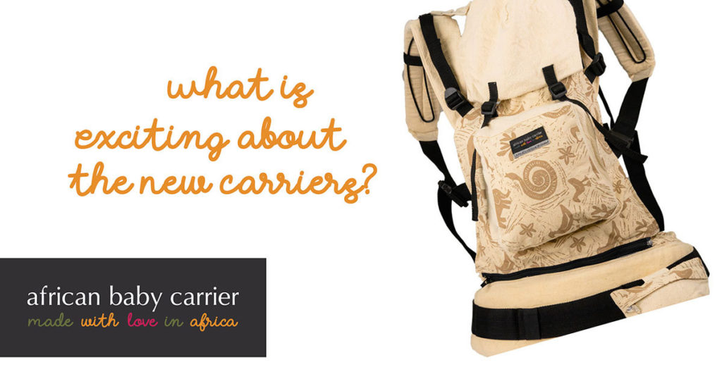 Introducing new and better segments on our new edition of baby carriers.